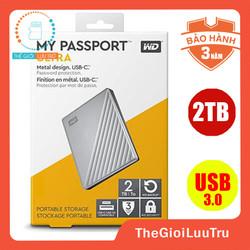 Ổ cứng di động Western 2TB my passport USB 3.0