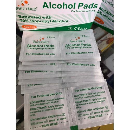 Hộp 100 miếng gạc tẩm cồn sát khuẩn, bông tẩm cồn y tế tiệt trùng sát trùng, cồn khô alcohol pads - 21416640 , 24683102 , 15_24683102 , 20000 , Hop-100-mieng-gac-tam-con-sat-khuan-bong-tam-con-y-te-tiet-trung-sat-trung-con-kho-alcohol-pads-15_24683102 , sendo.vn , Hộp 100 miếng gạc tẩm cồn sát khuẩn, bông tẩm cồn y tế tiệt trùng sát trùng, cồn khô