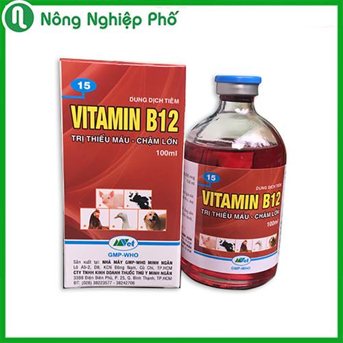 Chai 100ml - giả độc cho cây trồng - chế phẩm vitamin b12