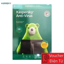 Mã code Phần mềm Kaspersky Anti Virus Cho 3 Máy Tính - KAV3U