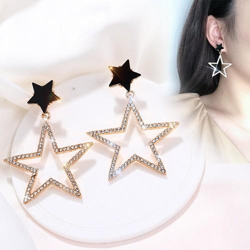 Bông tai nữ cá tính ngôi sao