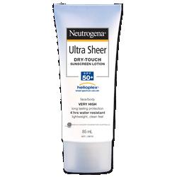 Kem Chống Nắng Mặt và Cơ Thể Neutrogena Ultra Sheer Dry-Touch Sunscreen Lotion SPF 50 85ml