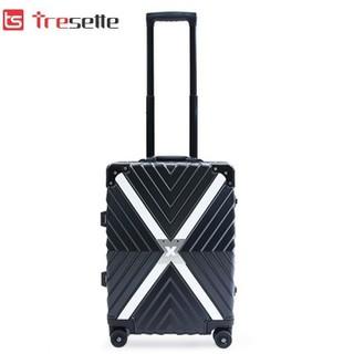 Vali khóa sập Tresette cao cấp nhập khẩu Hàn Quốc TSL 605520 Black - TSL 605520 Black thumbnail