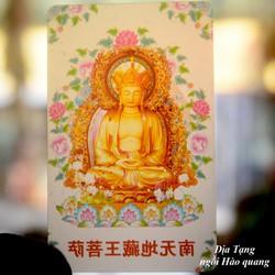 Ảnh Phật trong suốt bỏ ví-Nhiều mẫu-Combo 5 ảnh
