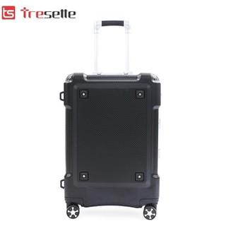 Vali khóa sập Tresette nhập khẩu Hàn Quốc siêu bền TSL-601924 Black - TSL-601924 Black thumbnail