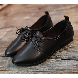 Giày da nữ mũi nhọn phong cách XTHT 20
