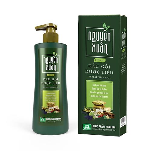 Dầu gội dược liệu nguyên xuân xanh - dưỡng tóc, phục hồi hư tổn- 250ml