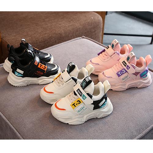 Giày thể thao trẻ em - giày da thể thao cho bé trai và bé gái kiểu dáng hàn quốc năng động