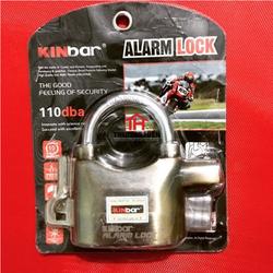 Combo 3 ổ khóa hú chống trộm Kinbar Alarm Lock 110Dba