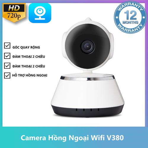 Camera ip chống trộm không dây v380 xem ban đêm+ thẻ  nhớ tùy chọn