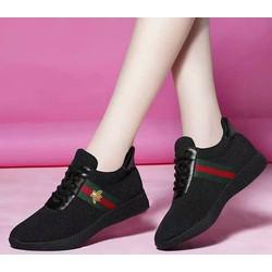 Giày Sneaker nữ, giày thể thao nữ gắn hình con ong TXN 3