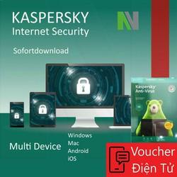 Mã code Phần mềm Kaspersky Anti Virus cho 1 Máy Tính - KAV1U