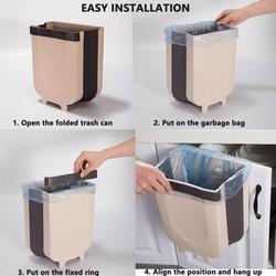 THÙNG RÁC GẤP GỌN - Thùng rác đa năng gấp gọn - Thùng giác đa năng - Thùng rác gấp gọn - Thùng rác gập gọn