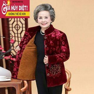 Áo Nhung Lót Lông Cho Bà - 4444444444rrrr thumbnail