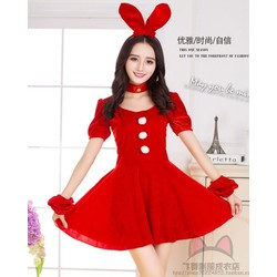 Trang phục Giáng sinh siêu dễ thương dành cho nữ