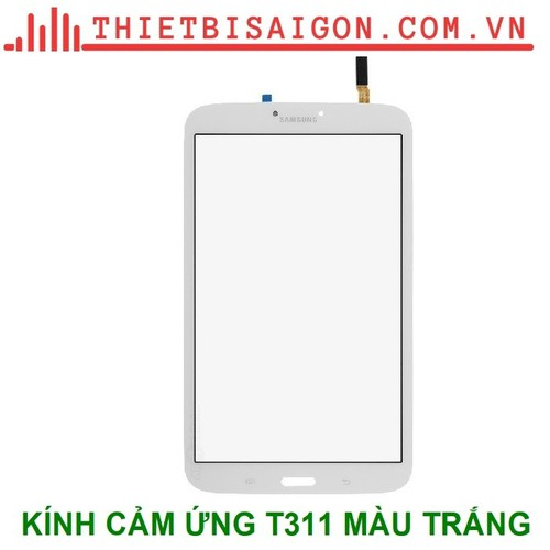 Kính cảm ứng samsung t311 màu trắng