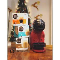 Máy Pha Cà Phê Viên Nén Capsule Mini Cherry Black Nescafe Dolce Gusto