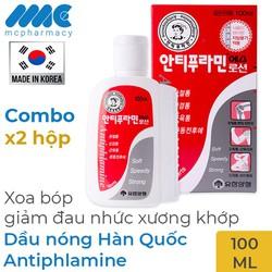 Combo 2 hộp Dầu nóng Hàn Quốc Antiphlamine
