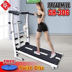 [TRỢ SHIP]BG - Máy chạy bộ cơ đa năng 5 in 1 Treadmill model SH-S306 2019 thích hợp cho cả người lớn và trẻ nhỏ