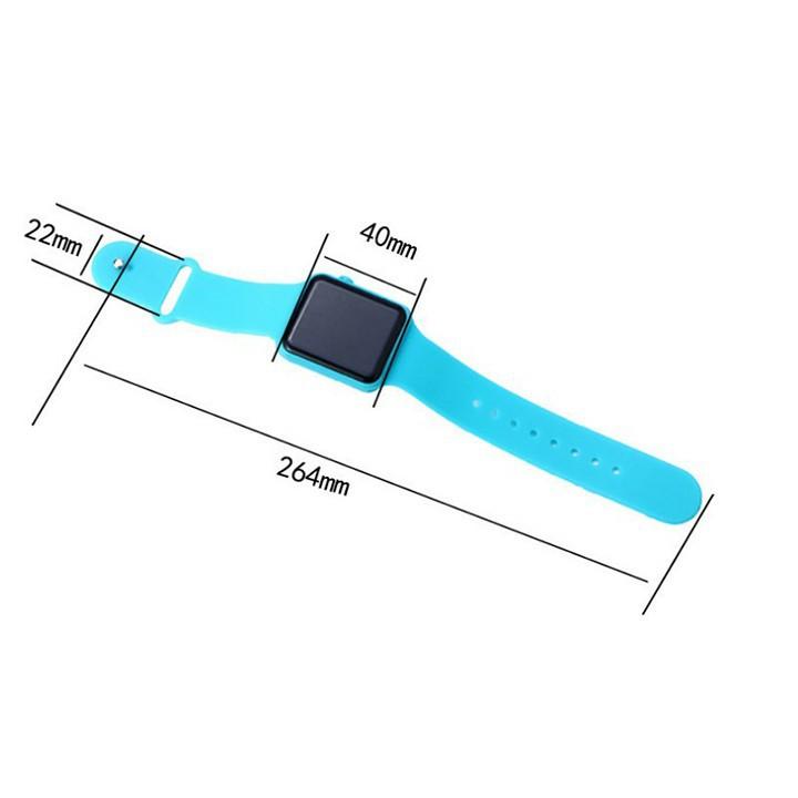 [ giá hủy diệt ] Đồng Hồ đeo tay LED Thời trang Nam - Nữ - Đồng Hồ đeo tay LED 5