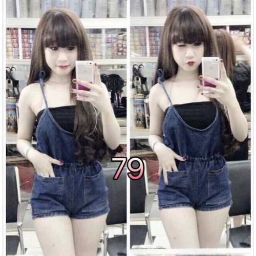 Quần yếm jean nữ đẹp - 21426343 , 24696250 , 15_24696250 , 165000 , Quan-yem-jean-nu-dep-15_24696250 , sendo.vn , Quần yếm jean nữ đẹp