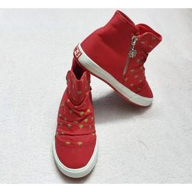 Giày Bốt Cho Bé Size 33 - bốt Đỏ