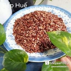 500g gạo lứt sấy giòn ăn liền vị muối mè tuyệt ngon