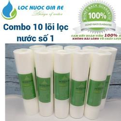 Combo 10 lõi lọc nước số 1 | lõi lọc nước số 1 | lõi lọc nước - LNGR001