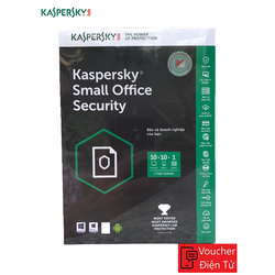 Mã Code Phần mềm KASPERSKY SMALL OFFICE SECURITY KSOS 10PC + 01FILE SERVER
