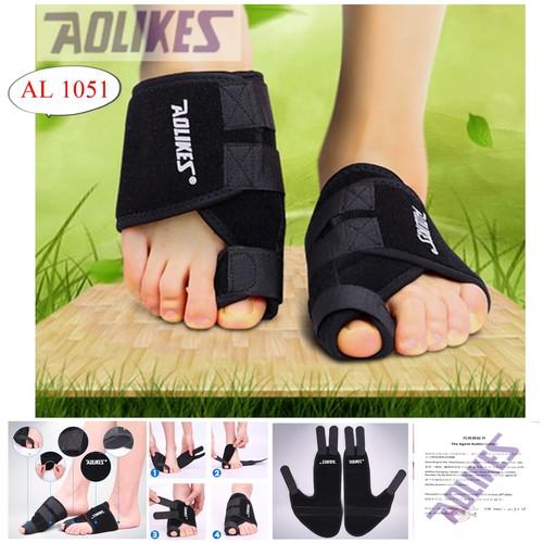 Bán sỉ - aolikes al 1051 - 1 cái đai cuốn bàn chân bảo vệ xương ngón chân cái chống trơn trượt chuyên gym chính hãng