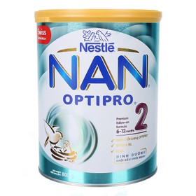 Sữa bột Nan Optipro 2 800g - NAN-2-800G - Sữa Nan Optipro 2 800g
