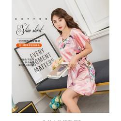 Đầm Ngủ Áo Váy Ngủ Lụa Đẹp MYC 2049