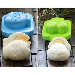 Bộ 8 Khuôn làm bánh trung thu 50gr hoạt hình dễ thương từ Hàn Quốc