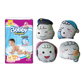 [TẶNG GỐI HOẶC BOBBY 29CM] Tã quần và tã dán Bobby bịch cực đại - SD0156