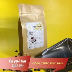 Cà phê hạt rang xay nguyên chất Robusta gói 100g Cảm hứng số 1 từ cafe Đất Đỏ