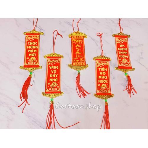 Combo 5 liễn vải đỏ 10 x 4 cm trang trí cây mai cây đào tết - 19301773 , 24727679 , 15_24727679 , 25000 , Combo-5-lien-vai-do-10-x-4-cm-trang-tri-cay-mai-cay-dao-tet-15_24727679 , sendo.vn , Combo 5 liễn vải đỏ 10 x 4 cm trang trí cây mai cây đào tết