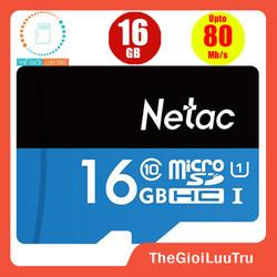 Thẻ nhớ Micro SD Netac 16GB SDHC class 10 Full HD
