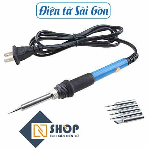 Mỏ hàn chì điều chỉnh nhiệt độ no.911 60w + 5 mũi hàn + miếng gác - 19301740 , 24699064 , 15_24699064 , 160000 , Mo-han-chi-dieu-chinh-nhiet-do-no.911-60w-5-mui-han-mieng-gac-15_24699064 , sendo.vn , Mỏ hàn chì điều chỉnh nhiệt độ no.911 60w + 5 mũi hàn + miếng gác