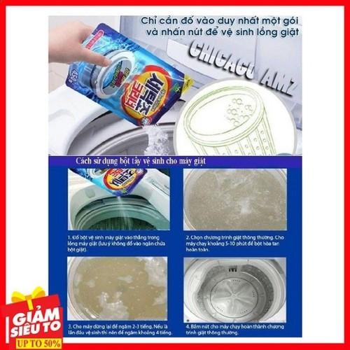 Bột tẩy vệ sinh lồng máy giặt 450g - 19079477 , 24227472 , 15_24227472 , 85000 , Bot-tay-ve-sinh-long-may-giat-450g-15_24227472 , sendo.vn , Bột tẩy vệ sinh lồng máy giặt 450g