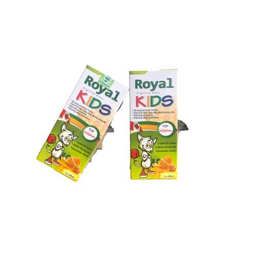 Royals kids lọ 100ml - bổ sung vitamin giúp trẻ ăn ngon, tăng cường hấp thu dưỡng chất, tăng sức đề kháng