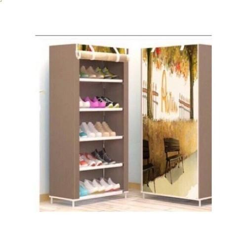 Tủ giày vải 5 tầng 001