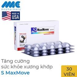 S MaxMove tăng cường sức khỏe xương khớp