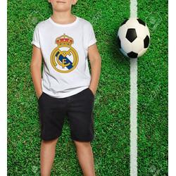 Áo Thun Bé Trai - Soccer Club - Real Manrid Cao Cấp