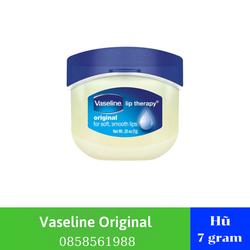 SON DƯỠNG VASELINE 7g - Sáp Dưỡng Môi Vaseline Mềm Mịn 7g - Son Dưỡng Môi Vaseline 7G - Sáp Nẻ Vaselin