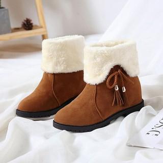 Boots Nữ-Boot Nữ Da Lộn Thời Trang - b204 thumbnail