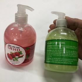 Combo 2 chai nước rửa tay cao cấp DEHIL - Nước rửa tay -Chai rửa tay - Dung dịch rửa tay - Tốt cho sức khỏe - Combo 2 chai nước rửa tay