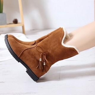 Boots Nữ-Boots Nữ - Giày Boots Nữ Thời Trang G204 thumbnail