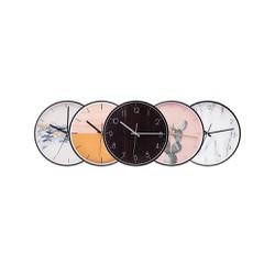 Đồng hồ treo tường kim loại nhập khẩu - Bh06th 1 đổi 1