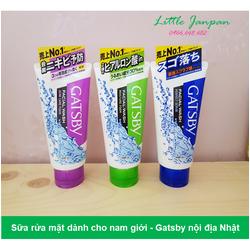 Sữa rửa mặt dành cho nam - Gatsby nội địa Nhật
