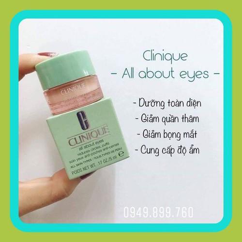 Kem mắt clinique